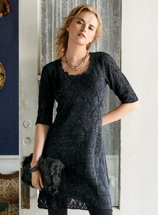 Starry Night Pima Cotton Dress