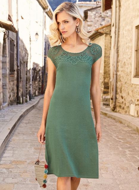 Dominique Pima Cotton Dress