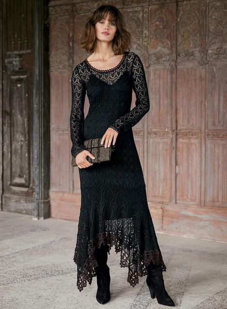 Colette Pima Cotton Lace Dress
