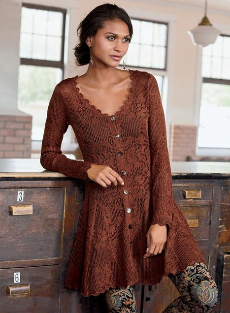 Gamine Pima Cotton Tunic-Dress