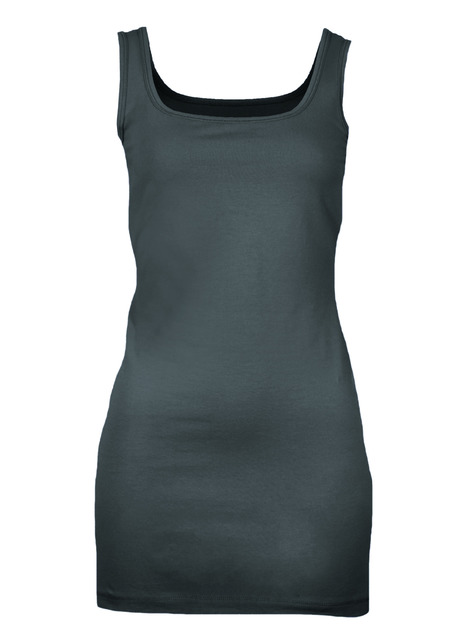 Pima Cotton Long Tank