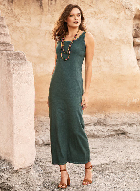 Vintage Wash Pima Tank Dress