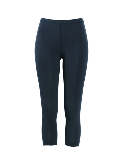 Cropped Pima Cotton Leggings