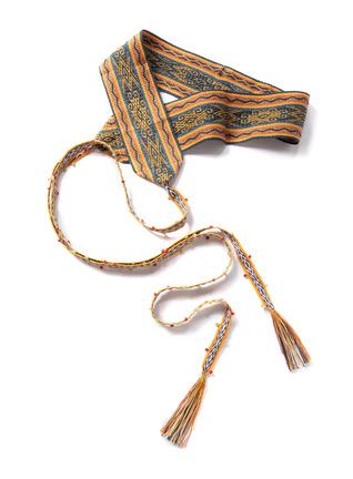 Litoral Pima Handwoven Belt