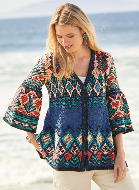 Aegean Pima Cotton Cardigan