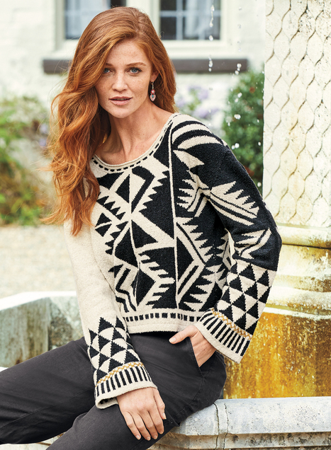 Pima Cotton Breezy Point Pullover