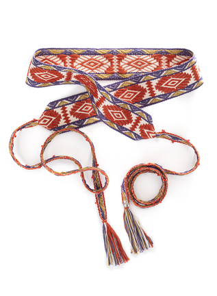 Pima Cotton Iquitos Belt