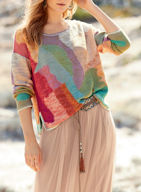 Paintbox Pima Cotton Pullover