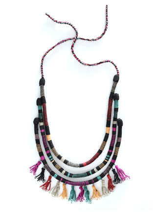 Pima Cotton Festival Necklace