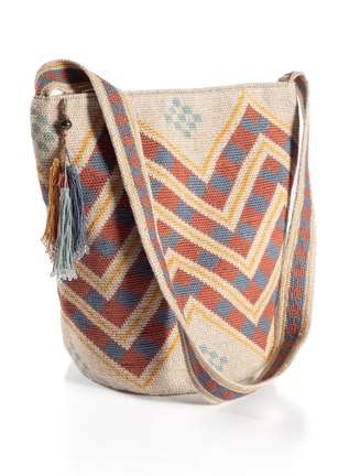 Chevron Pima Cotton Bag
