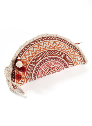 Pima Cotton Taco Clutch