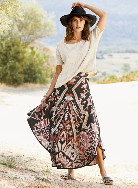 Siena Pima Cotton Skirt