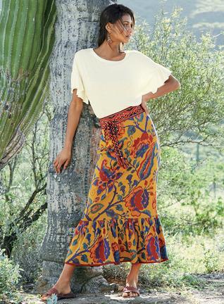Fiesta Pima Cotton Skirt