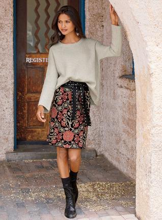 Tudor Rose Short Skirt