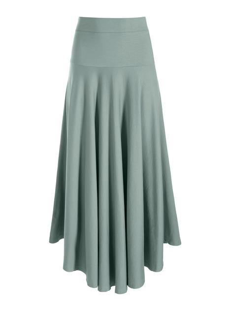 Pima Cotton Nassau Skirt
