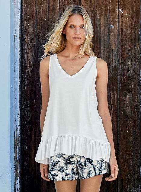 Java Pima Cotton Top