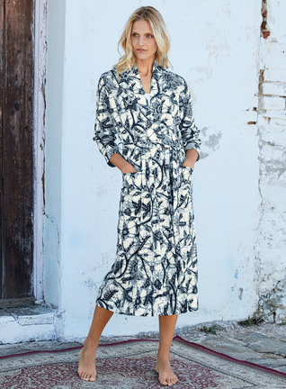Java Pima Cotton Robe