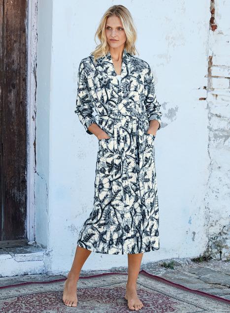 Java Pima Cotton Robe