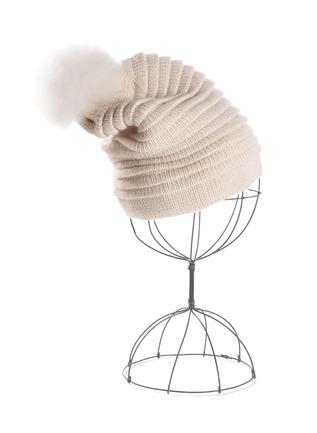 Ottoman Rib Baby Alpaca Hat