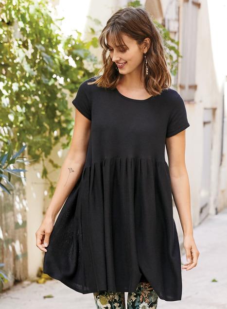 Lydia Pima Tunic-Dress