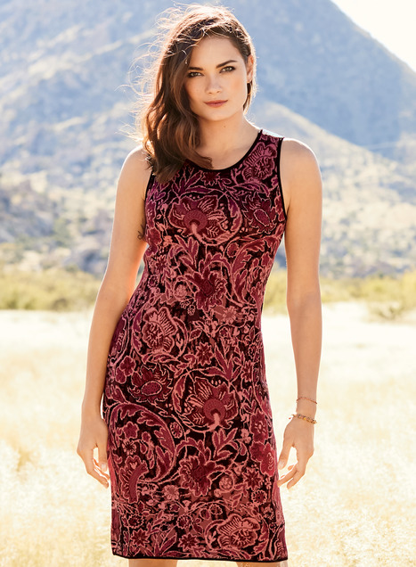Samarinda Pima Cotton Sheath Dress