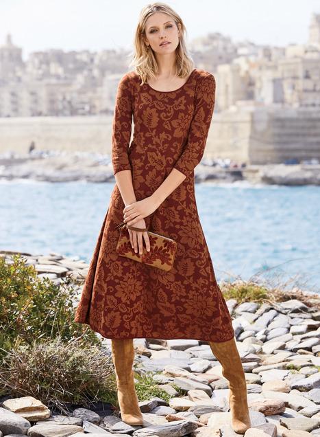 Hibiscus Pima Cotton Dress