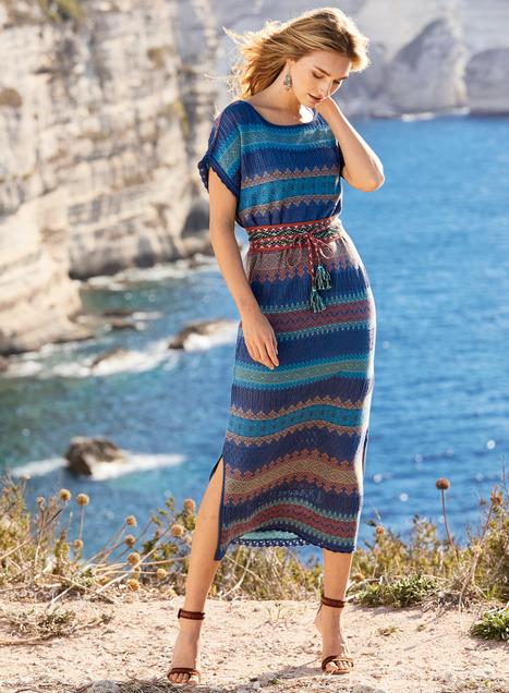 Minya Pima Cotton Dress