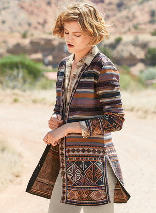 Sidika Pima Cotton Cardigan