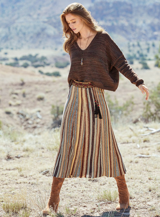 Shiprock Pima Cotton Skirt