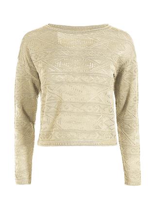 Pima Cotton Ogunquit Lace Top