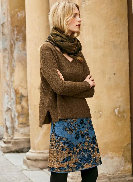 Newbury Pima Cotton Skirt