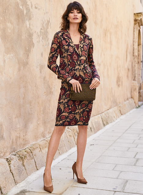 Rabat Pima Cotton Pencil Skirt