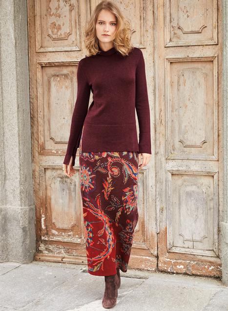 Amira Pima Cotton Skirt