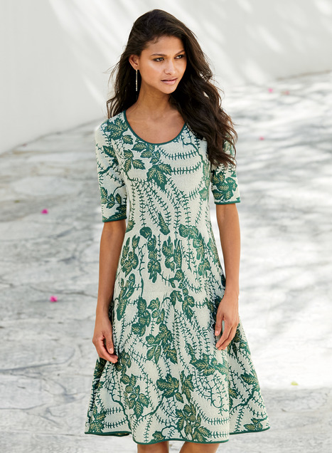 Pima Cotton English Ivy Dress