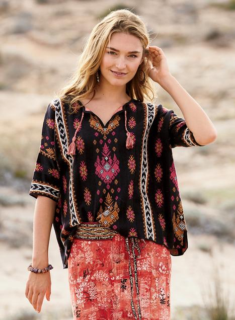 Santorini Pima Cotton Pullover
