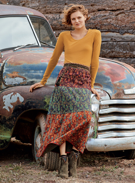 Malabar Pima Cotton Skirt