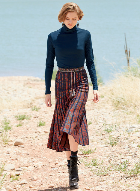 Lomas Pima Cotton Skirt