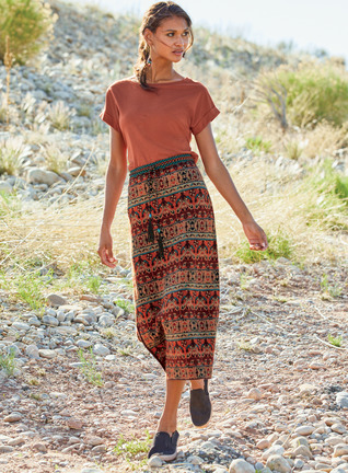 Pima Cotton Nomad Skirt