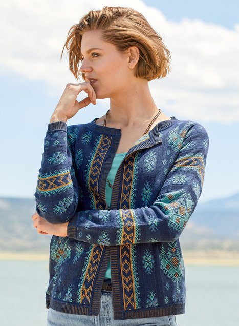 Naxos Pima Cotton Cardigan