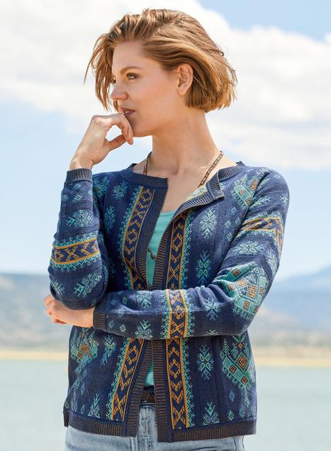 Naxos Pima Cotton Cardigan