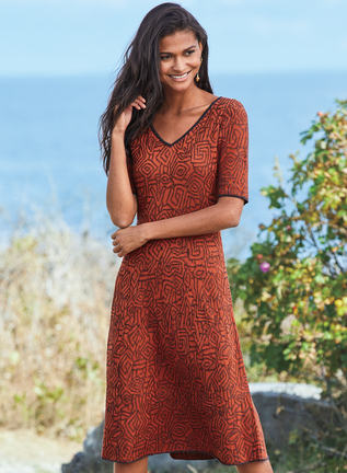 Talia Pima Cotton Dress