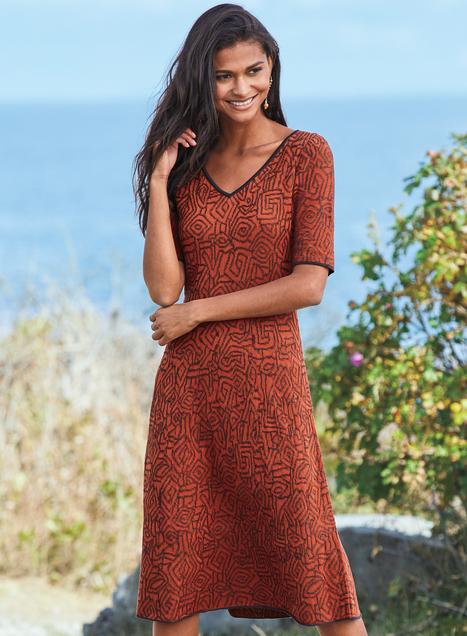Talia Pima Cotton Dress