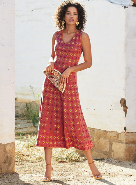 Isla Vista Pima Cotton Sundress
