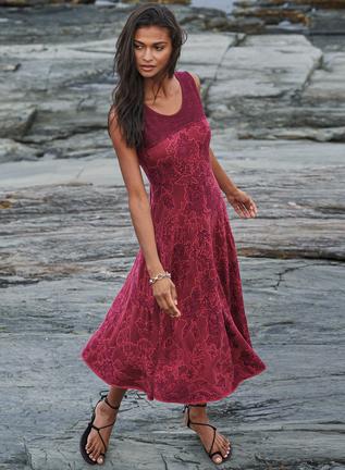 Pima Cotton Genevieve Dress