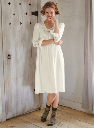 Bronte Pima Cotton Nightgown