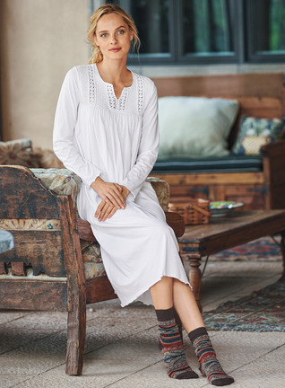 Vivienne Pima Cotton Nightgown