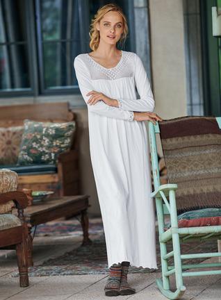 Charlotte Pima Cotton Nightgown
