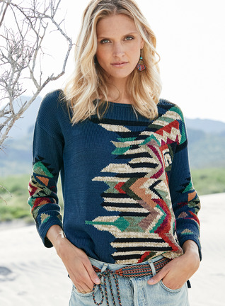 Marrakesh Pima Cotton Pullover