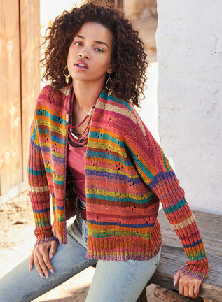 Ambrosia Pima Cotton Cardigan