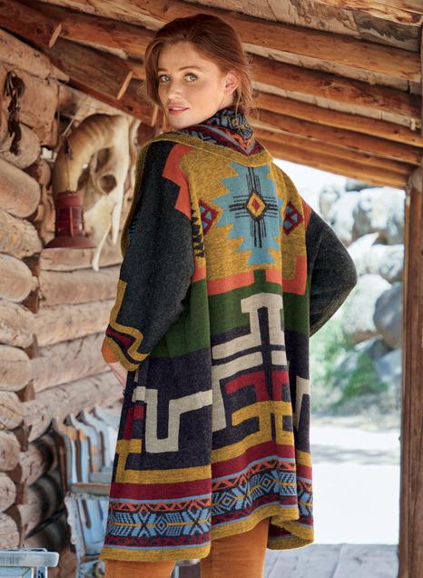 Crossroads Alpaca Knit Coat